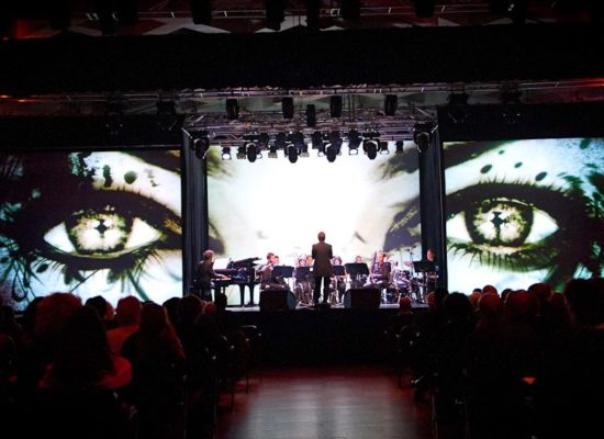 Stage multi projection