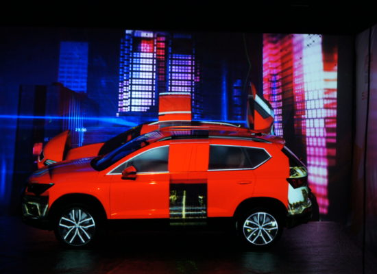 Video mapping - Car Mapping
